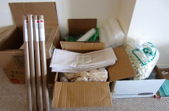 Опаковане на вашите вещи