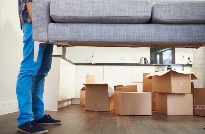 Преместване на мека мебел